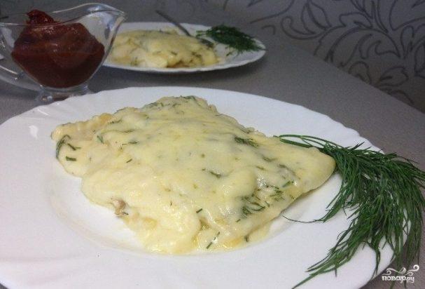 Сырная лазанья