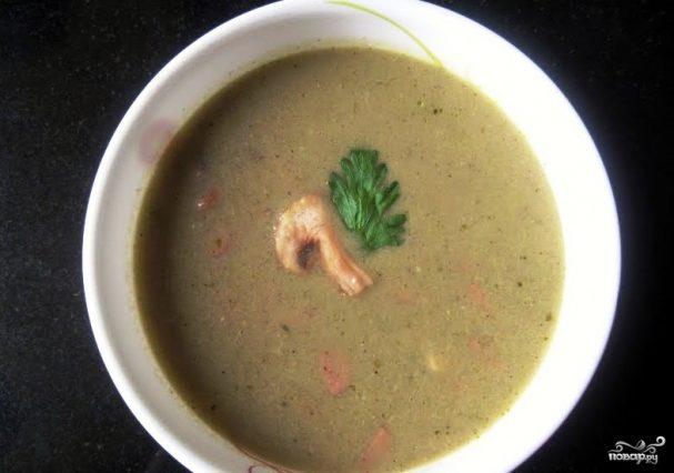 Грибной соус с сельдереем