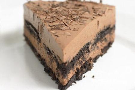 Шоколадный пирог с рикоттой