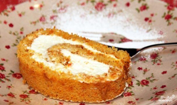 Десерт из тыквы