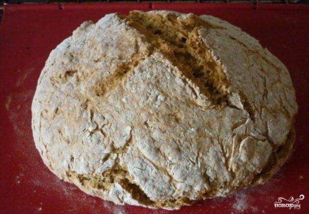Хлеб из ржаной муки без дрожжей