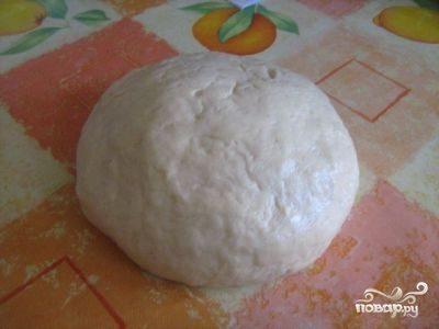Тесто для курника дрожжевое