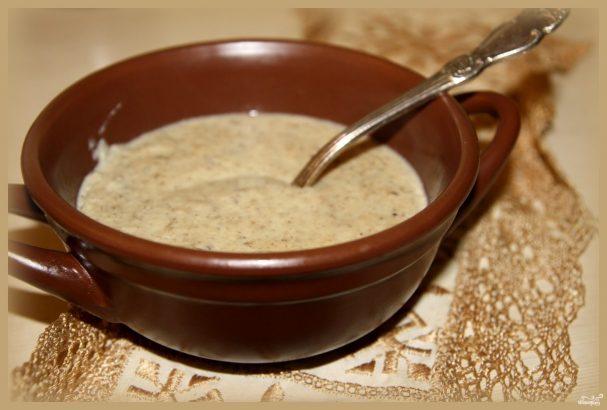 Крем-суп из опят