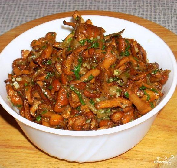 Лисички по-корейски