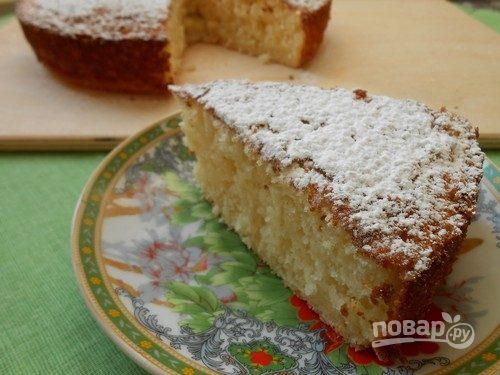 Рецепт пирога (манник на кефире)