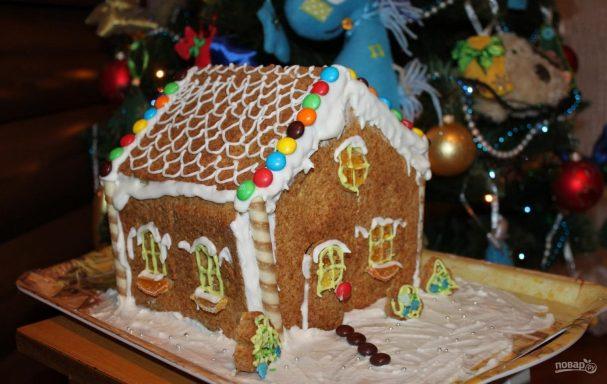 Рождественский пряничный ароматный домик