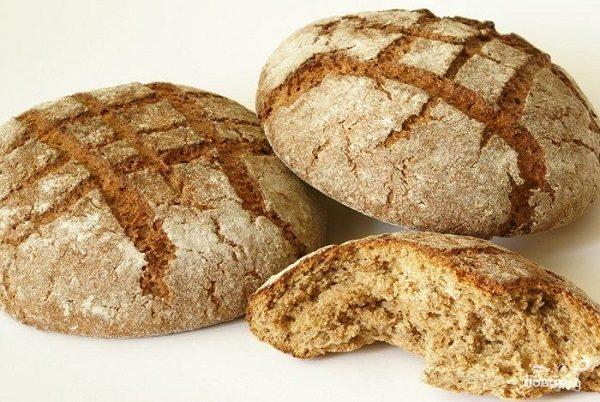 Гречневый хлеб без дрожжей