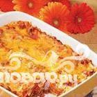 Лазанья с беконом и сыром Колби