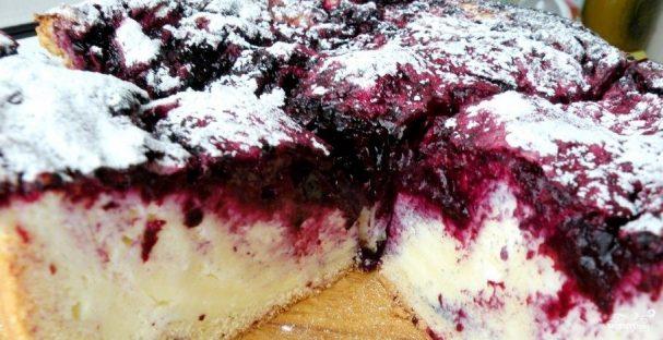 Пироги со свежей смородиной