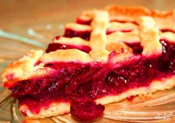 Вишневый пирог-пай