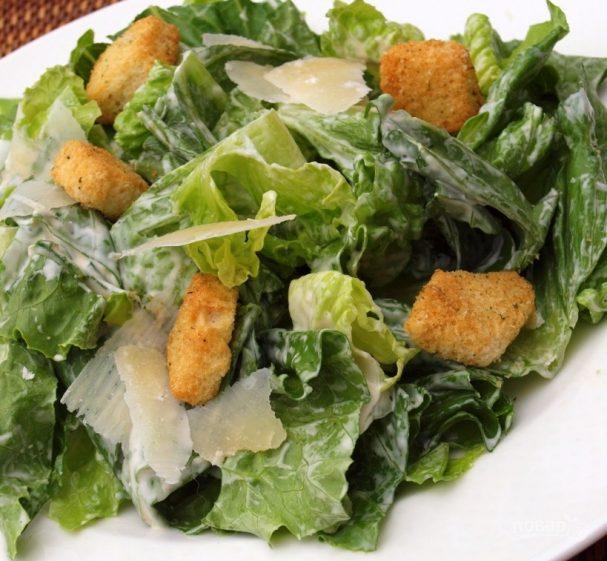 """Соус для салата """"Цезарь"""" простой"""