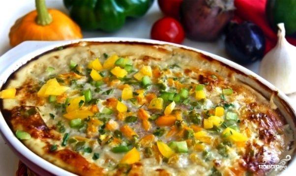 Запеканка из курицы с овощами в духовке