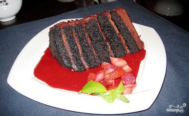 """Торт """"Великая шоколадная стена"""""""