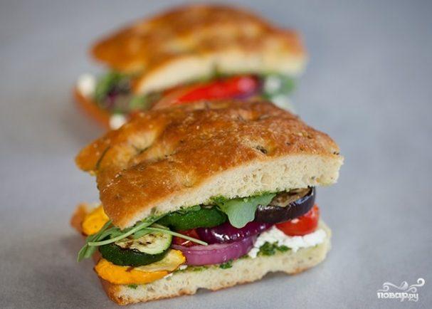 Калифорнийский гриль сэндвич Veggie