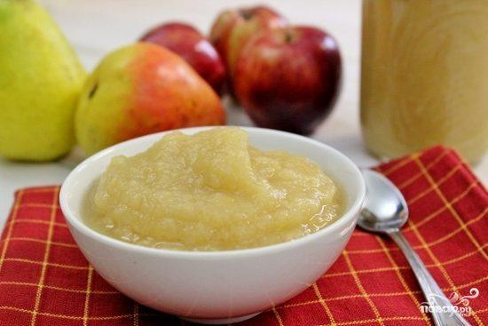 Соус из яблок и груш