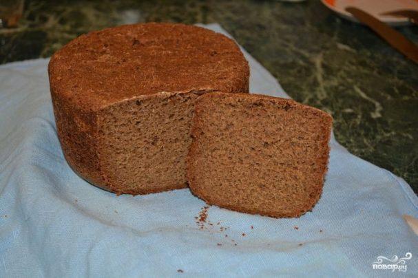 Домашний хлеб на закваске в хлебопечке