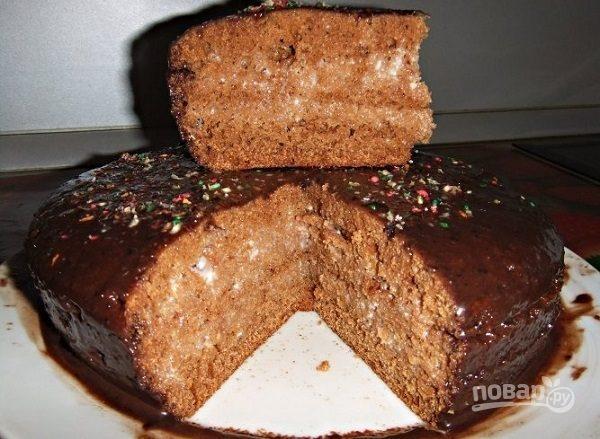 Торт чёрный принц с пошаговым фото