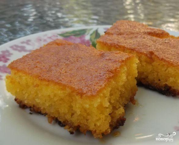 Сладкий пирог за 5 минут