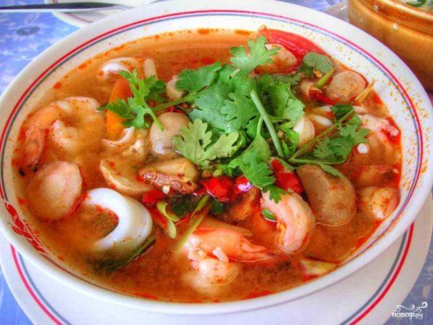 Тайский суп Том KXA