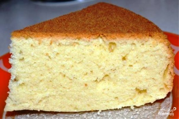 торта Рецепты из сметаны бисквитного