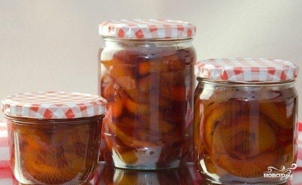 Варенье из персиков быстрое