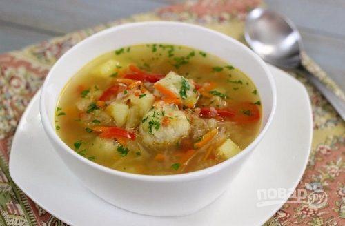 Фрикадельки из фарша в суп