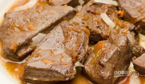 печень свиная в горшочках в духовке рецепты