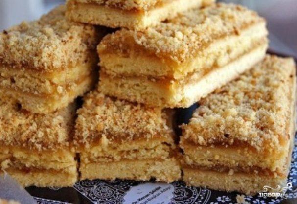 песочное пирожное рецепт