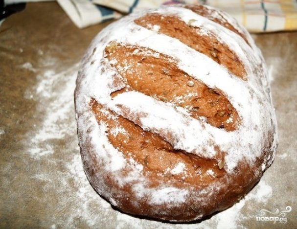 Домашний хлеб с сухофруктами