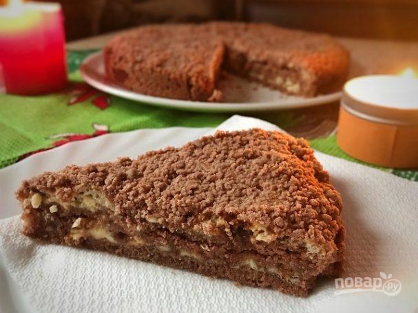 Насыпной пирог-пряник