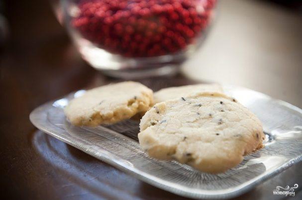 Печенье с лавандой