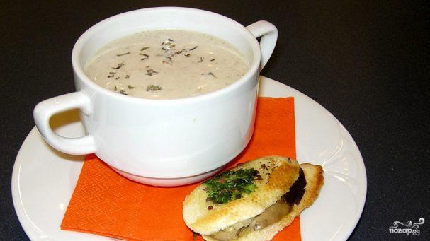 суп пюре из печени куриной рецепт с фото
