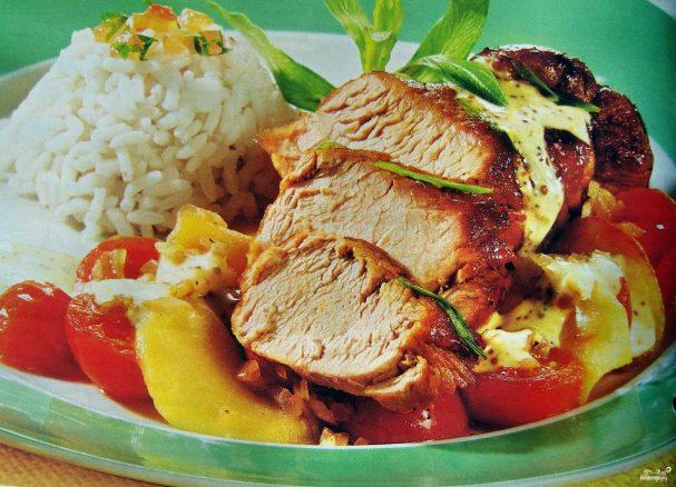 Запеченное мясо в мультиварке