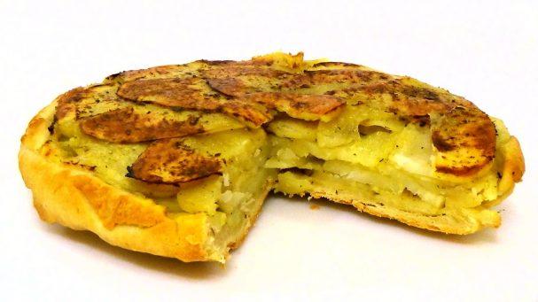 Картофельный перевернутый пирог