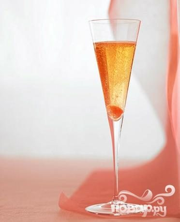 Классический коктейль с шампанским