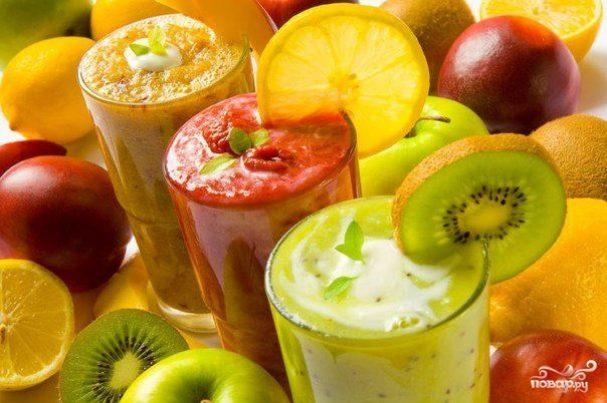 диетические коктейли из овощей для похудения в блендере рецепты