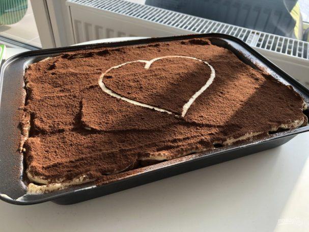 Десерт на День Святого Валентина