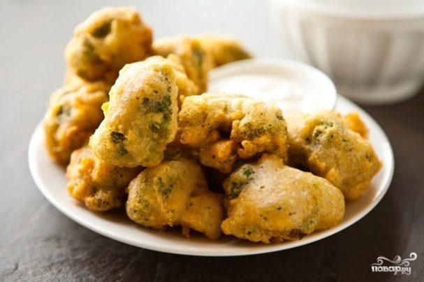 брокколи в кляре капуста рецепты приготовления