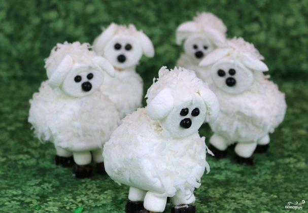 "Десерт ""Овца"" без выпечки"