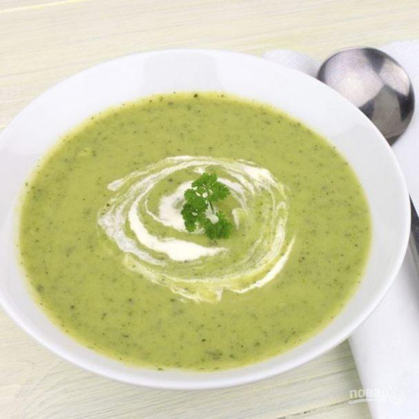 Суп из зеленой фасоли