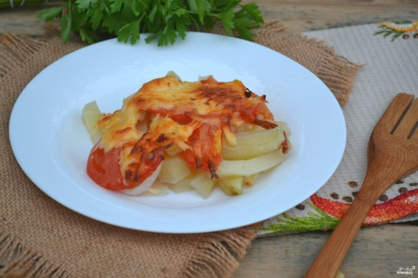 Запеканка картофельная с мясом в духовке