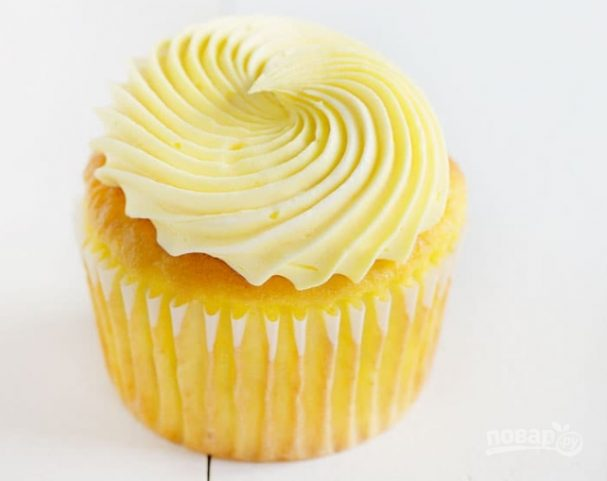 Кексы лимонные