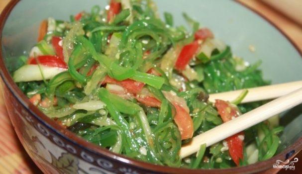 ку можно добавить салат из чуки рецепт