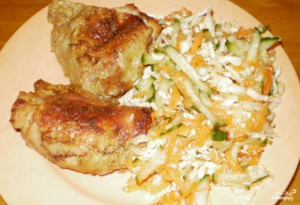 Курица, запеченная в соусе