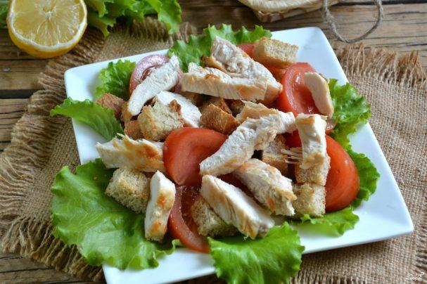 Салат с филе индейки с