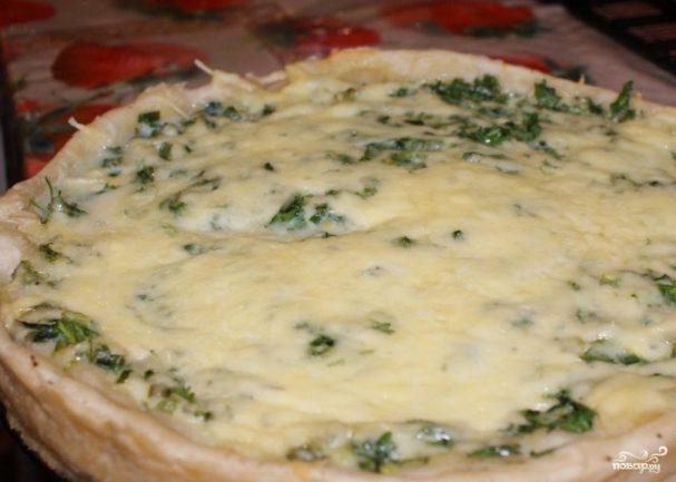 Армянский пирог с зеленью