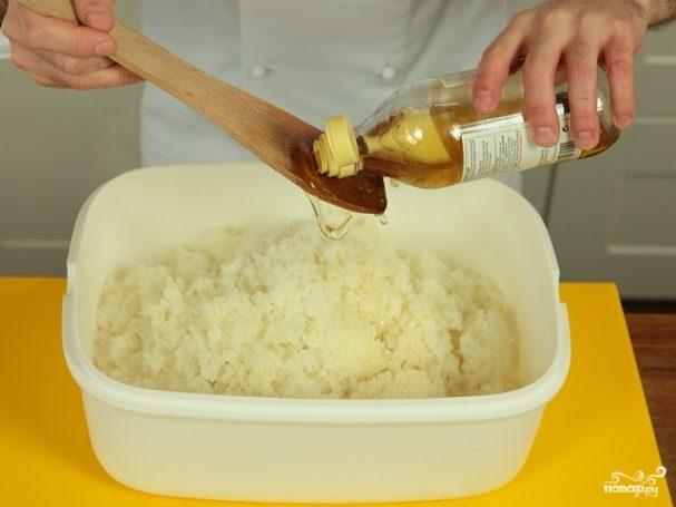 Рис для роллов с уксусом