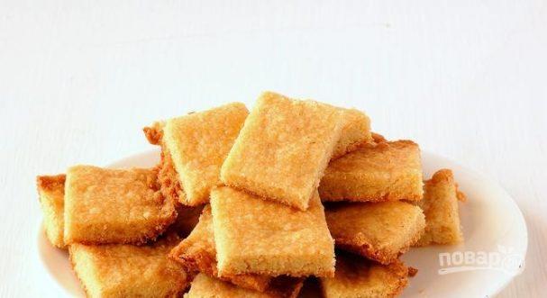 Печенье из манной крупы