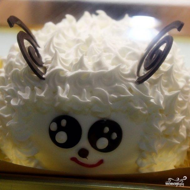 """Торт """"Овечка"""""""