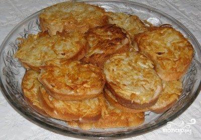 Гренки с картофелем